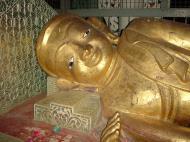 Asisbiz Pagan Shwezigon Pagoda main Buddhas Dec 2000 05
