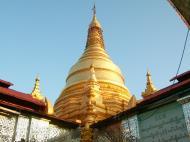 Asisbiz Mandalay Hill Sutaungpyei Pagoda stupa Nov 2004 02
