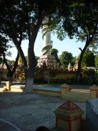 Asisbiz Thanboddhay paya Tower Monywa Sagaing Myanmar Dec 2000 01