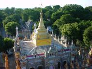Asisbiz Thanboddhay paya Tower views Monywa Sagaing Myanmar Dec 2000 01