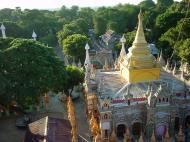 Asisbiz Thanboddhay paya Tower views Monywa Sagaing Myanmar Dec 2000 06