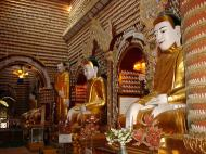 Asisbiz Thanboddhay paya main Buddhas Monywa Sagaing Myanmar Dec 2000 16