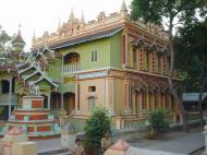 Asisbiz Thanboddhay paya monks quarters Monywa Sagaing Myanmar Dec 2000 01