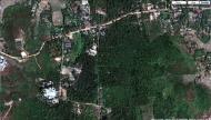 Asisbiz 0 Between Kyauktan and Thilawa Port blue pagoda satellite 01