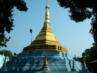 Asisbiz Between Kyauktan and Thilawa Port blue pagoda Oct 2004 06