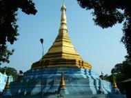 Asisbiz Between Kyauktan and Thilawa Port blue pagoda Oct 2004 07
