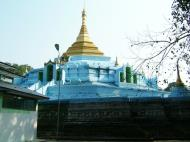 Asisbiz Between Kyauktan and Thilawa Port blue pagoda Oct 2004 12