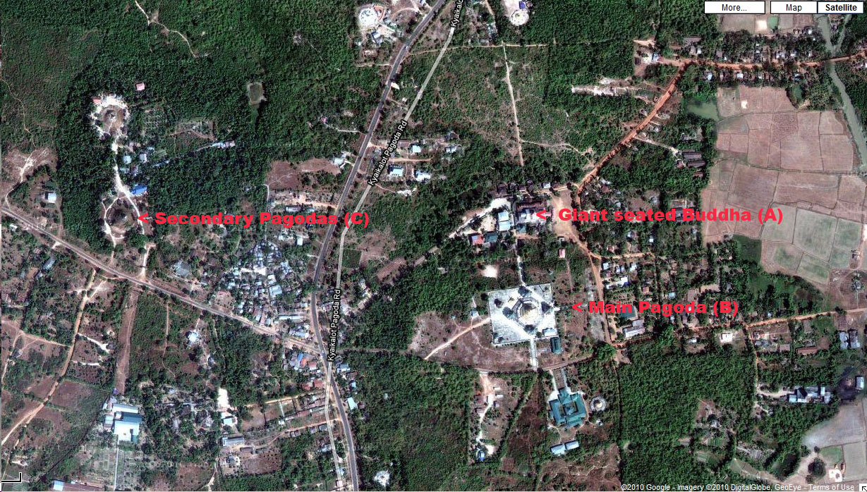 0 Kyauktan Satellite mud map 0A Asisbiz