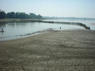 Asisbiz Myanmar Amarapura Mandalay Thaungthaman lake Jan 2001 09