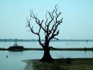 Asisbiz Myanmar Amarapura Mandalay Thaungthaman lake Nov 2004 09