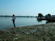 Asisbiz Myanmar Amarapura Mandalay Thaungthaman lake Nov 2004 26