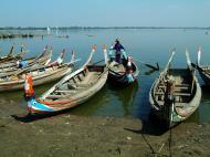 Asisbiz Myanmar Amarapura Mandalay Thaungthaman lake boats Nov 2004 12