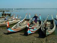 Asisbiz Myanmar Amarapura Mandalay Thaungthaman lake boats Nov 2004 14