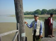 Asisbiz U Beins bridge Amarapura Mandalay Myanmar Dec 2000 02