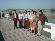 Asisbiz U Beins bridge Amarapura Mandalay Myanmar Dec 2000 08