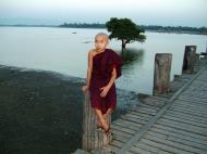 Asisbiz U Beins bridge Amarapura Mandalay Myanmar Nov 2004 01