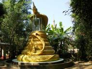 Asisbiz U To near Hle Guu dragon protecting the Buddha statue 2010 04
