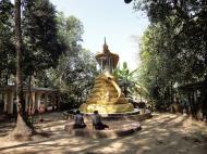 Asisbiz U To near Hle Guu dragon protecting the Buddha statue 2010 07