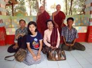 Asisbiz U To near Hle Guu way to Prome head monk U Ku Tha La 2010 03