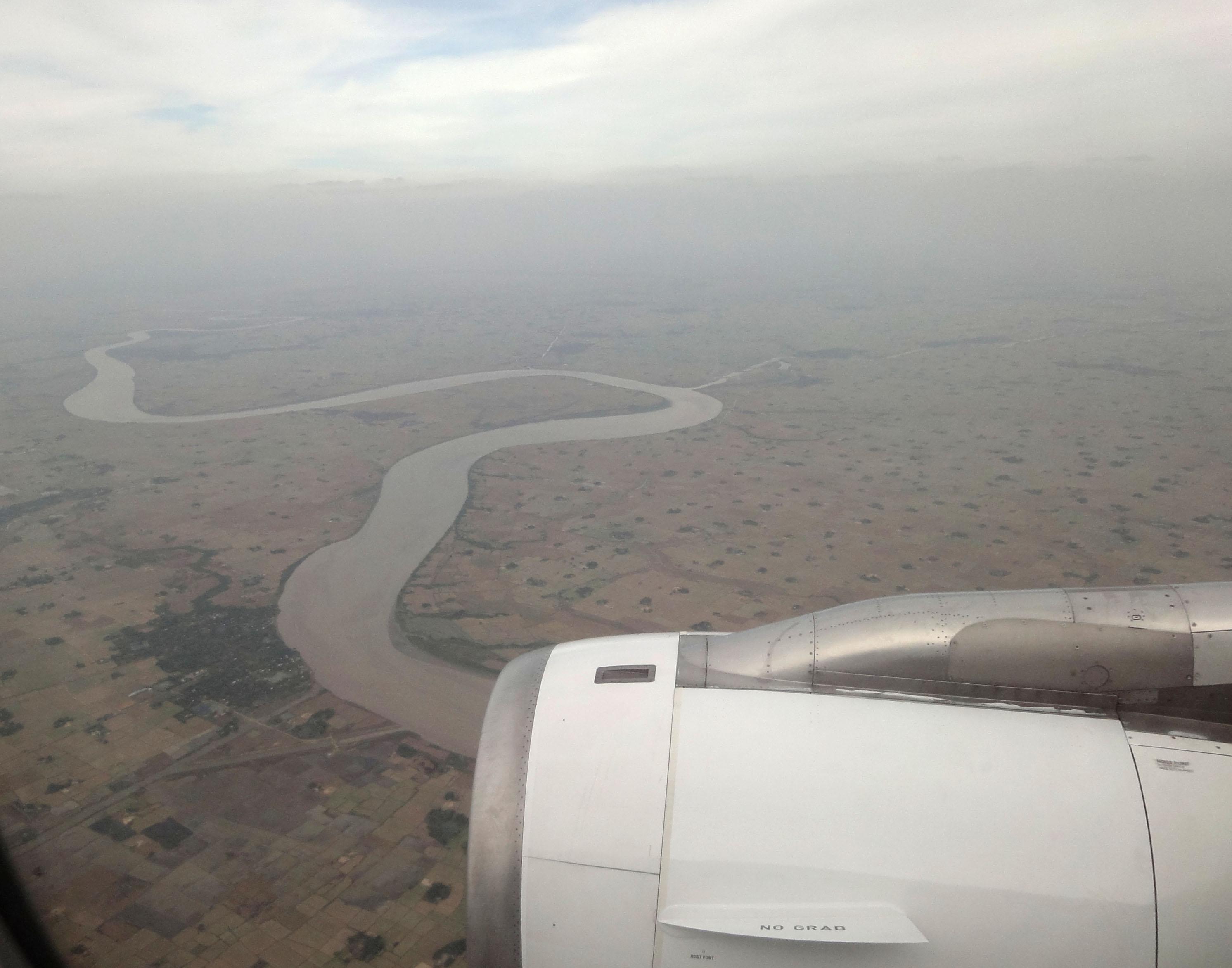 Silk Air flight SIN RGN IATA RGN ICAO VYYY Mingaladon approach 02