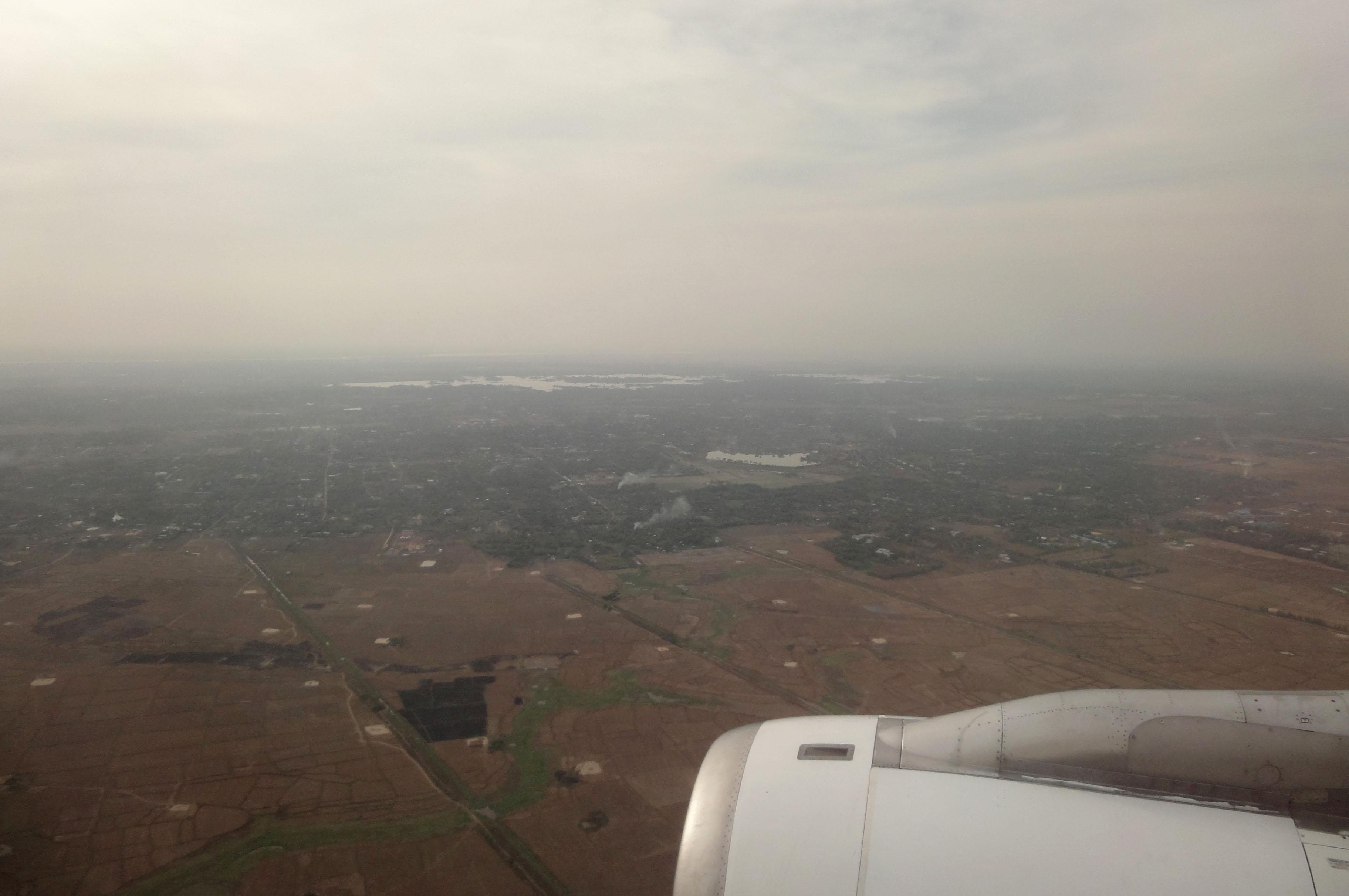 Silk Air flight SIN RGN IATA RGN ICAO VYYY Mingaladon approach 05