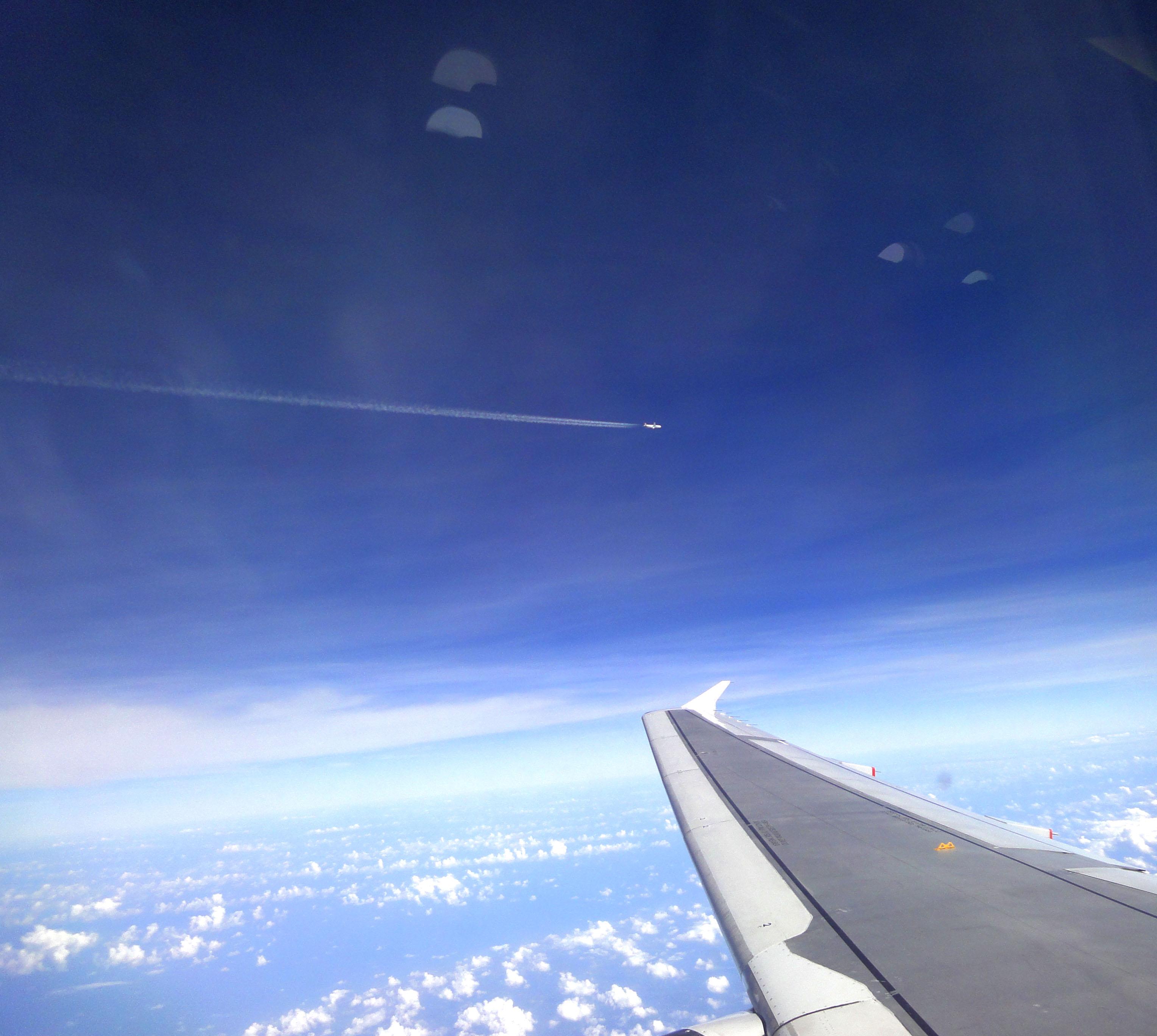 Silk Air flight SIN RGN IATA RGN over Malaysian airspace 06