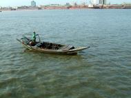 Asisbiz Myanmar Yangon port various river craft Oct 2004 07