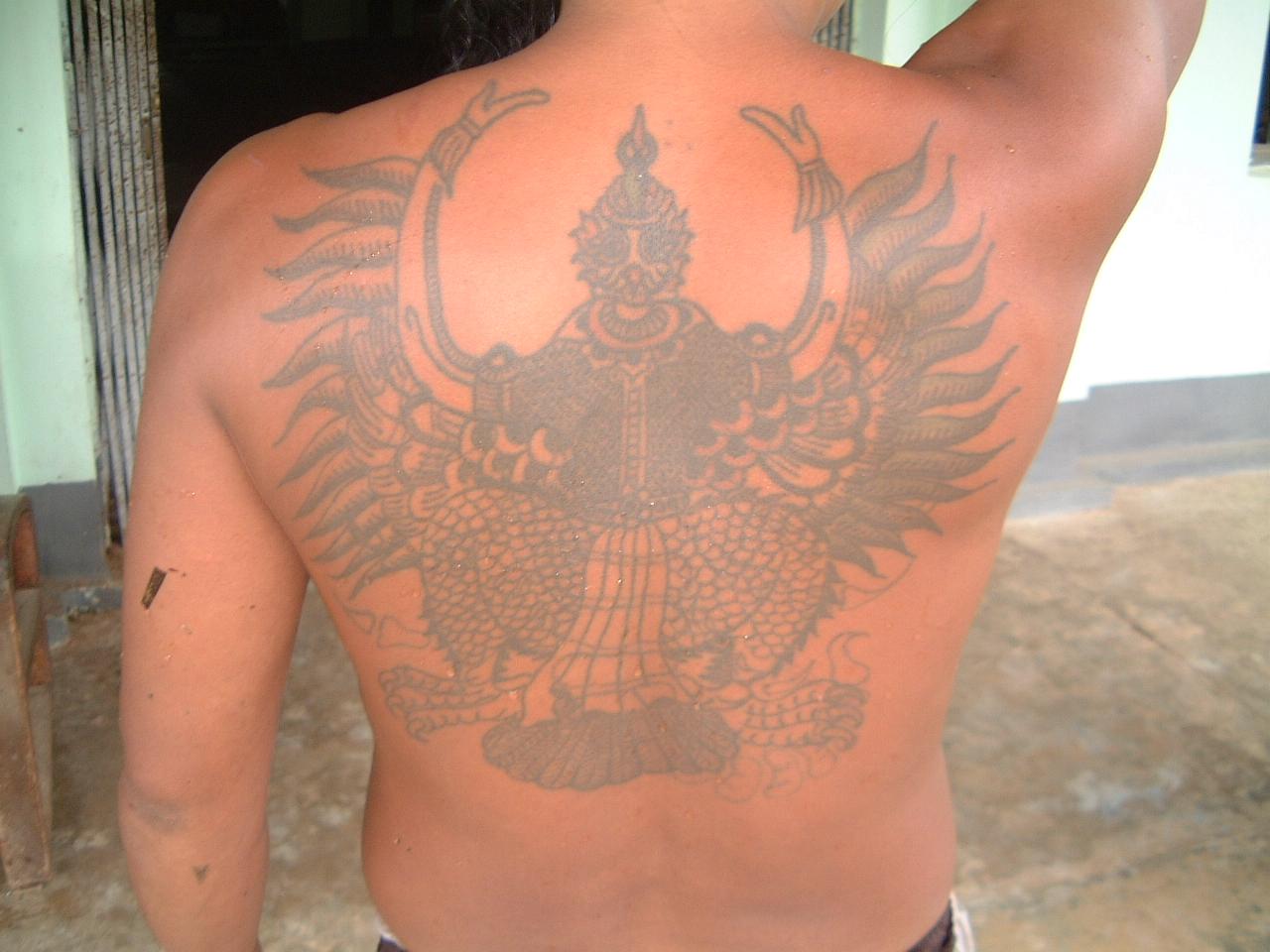 Burmese Tattoo 01