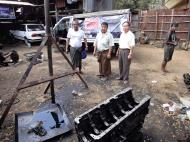 Asisbiz Myanmar Yangon car repair shop 02