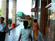 Asisbiz Yangon Bogyoke Aung San road street scenes Myanmar Oct 2004 01