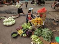 Asisbiz Yangon Hledan street market venders Myanmar 2009 03