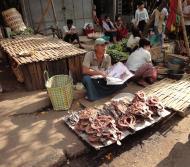 Asisbiz Yangon Hledan street market venders Myanmar 2009 05