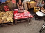 Asisbiz Yangon Hledan street market venders Myanmar 2009 08