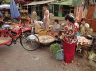 Asisbiz Yangon Hledan street market venders Myanmar 2009 09