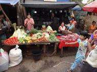 Asisbiz Yangon Hledan street market venders Myanmar 2009 11
