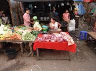 Asisbiz Yangon Hledan street market venders Myanmar 2009 12