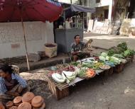 Asisbiz Yangon Hledan street market venders Myanmar 2009 15