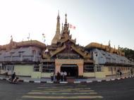 Asisbiz Yangon Sule pagoda round about Myanmar Jan 2010 02