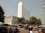 Asisbiz Yangon Sule road Traders 5 star hotel Myanmar Jan 2010 01