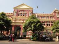 Asisbiz Yangon colonial architecture Phaye Rd High Court Myanmar 2010 06