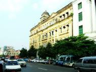 Asisbiz Yangon colonial architecture Phayre road buildings Jan 2004 02