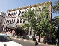 Asisbiz Yangon colonial architecture Strand road central post office Jan 2010 01