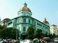 Asisbiz Yangon colonial architecture corner of Strand and Phayre road Jan 2004 01