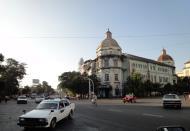Asisbiz Yangon colonial architecture corner of Strand and Phayre road Jan 2004 03