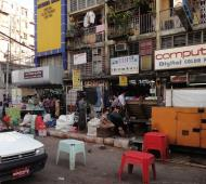 Asisbiz Yangon street scenes Myanmar Jan 2010 01