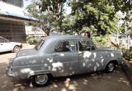 Asisbiz Yangon street scenes vintage car Myanmar Jan 2010 01