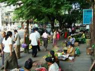 Asisbiz Yangon typical street venders Myanmar Oct 2004 02