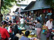 Asisbiz Yangon typical street venders Myanmar Oct 2004 04