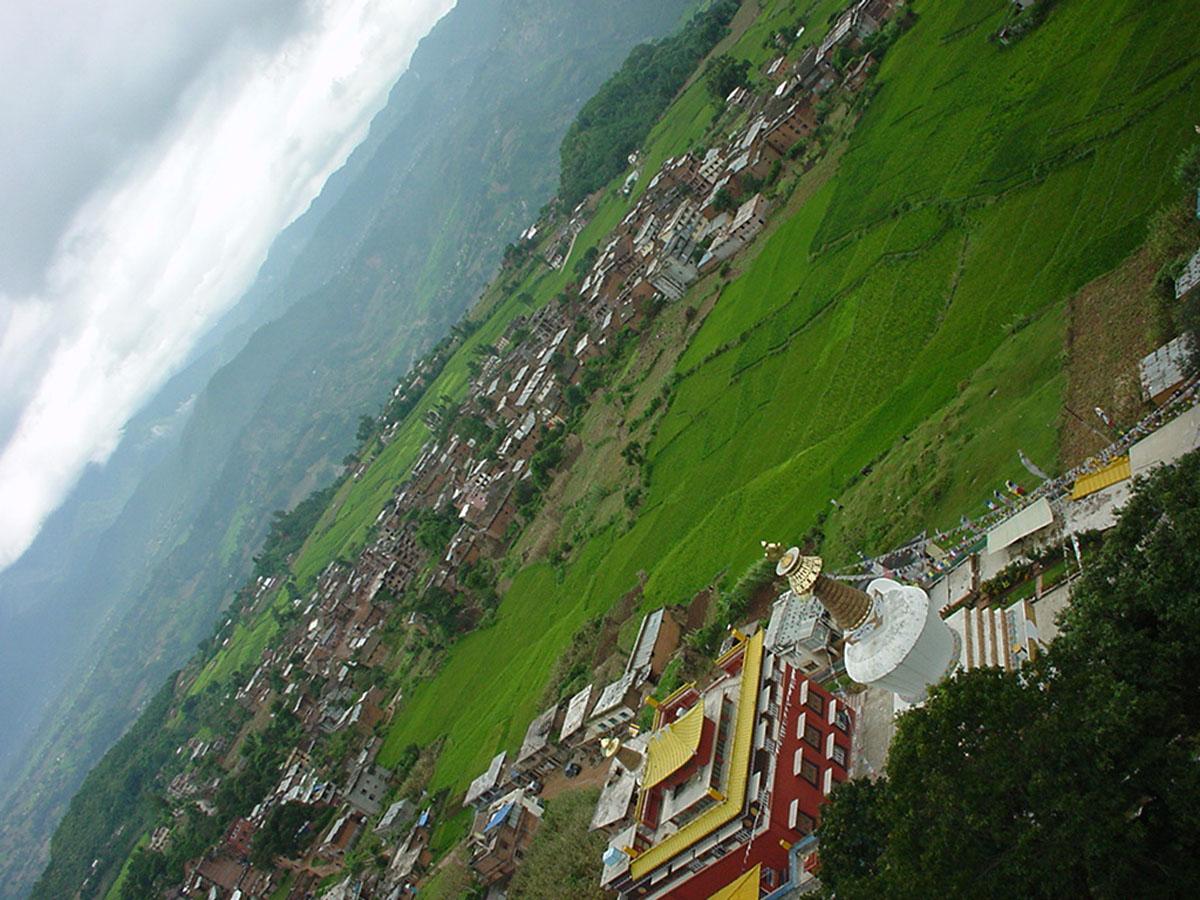 Nepal Kathmandu Valley area views Sep 2000 02