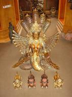 Asisbiz Nepal Kathmandu Arts and Crafts Statues 02